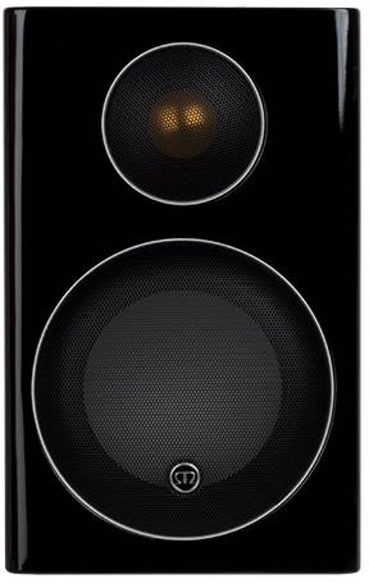 Monitor Audio Radius 90 - Boekenplank Speaker - Zwart Hoogglans (Per