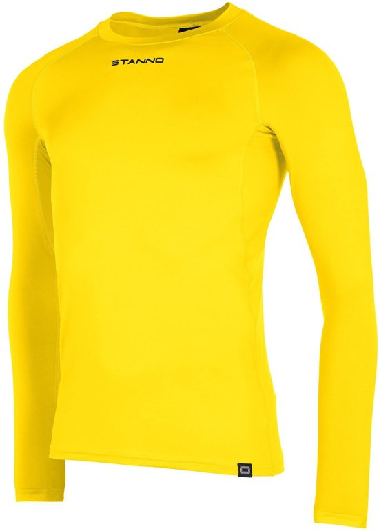 Stanno Functional Sports Thermo  Sportshirt performance - Maat XXL  - Unisex - geel