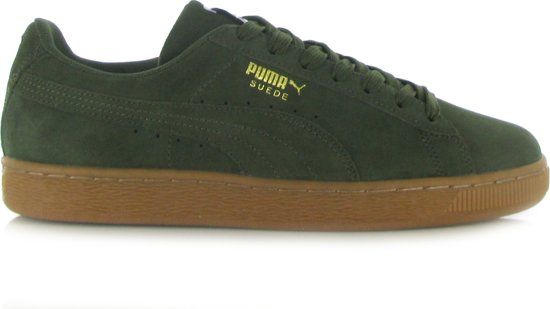 52ae6860627 bol.com | Puma Suede Classic Donker Groene Sneakers