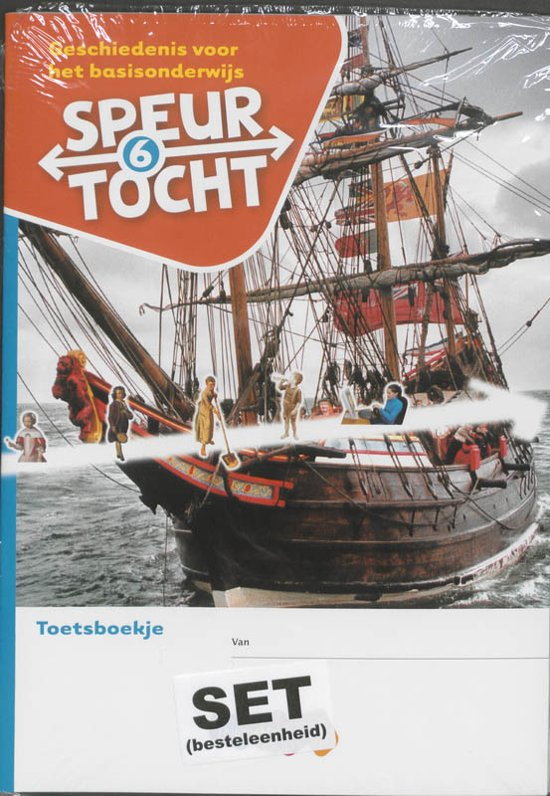 Boek cover Speurtocht Groep 6 Geschiedenis voor het basisonderwijs Toetsboekje van Bep Braam