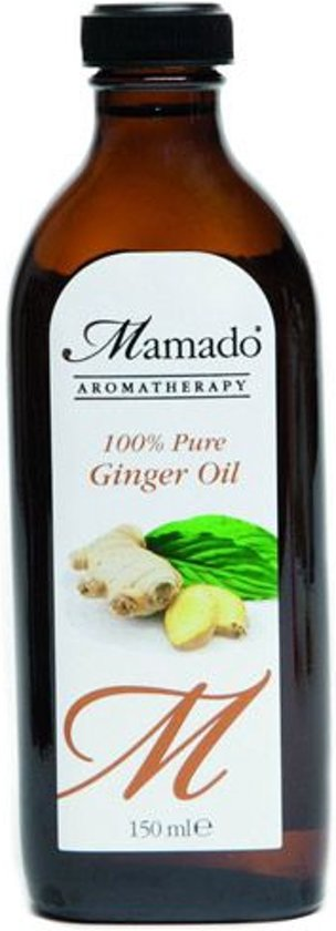 Ginger gember olie met zoete amandelolie - 150 ml - Body Oil