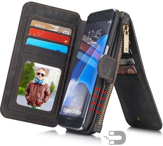 f7aa41de801 bol.com | Caseme luxe portemonnee hoes Samsung Galaxy S7 Edge zwart