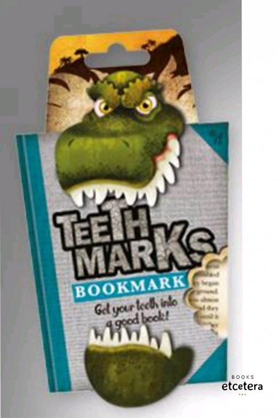 Bladwijzer 'Teethmarks' - T-Rex