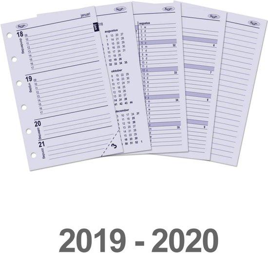 Kalpa 6237-19-20 Pocket-Junior organiser week agenda NL 2019-2020