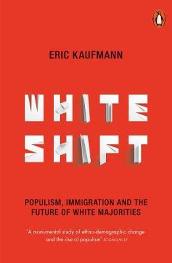 Boek cover Whiteshift van Eric Kaufmann (Paperback)