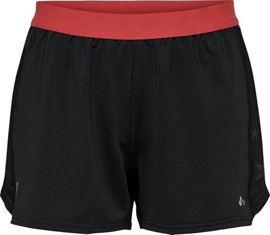 Only Play Alya Loose Training Shorts Dames Sportbroek - Zwart - Maat M