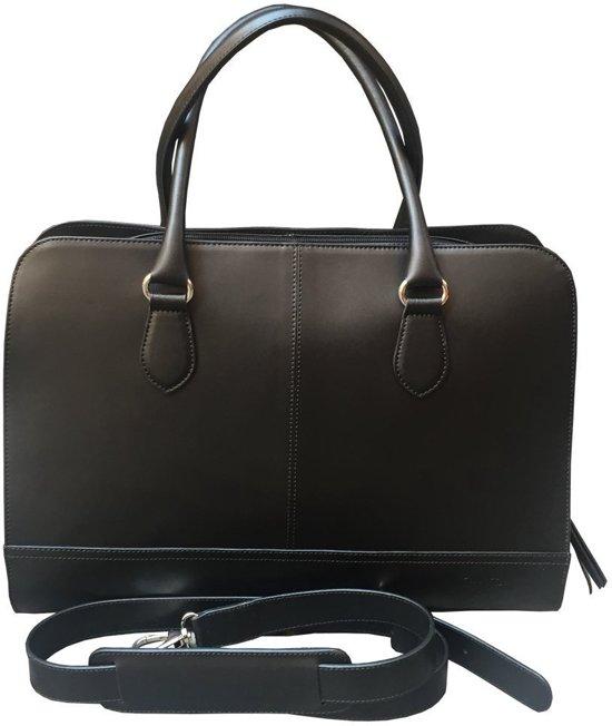 Schoudertas Met Laptopvak 15 6 Inch : Bol su b zakelijke laptoptas inch zwart