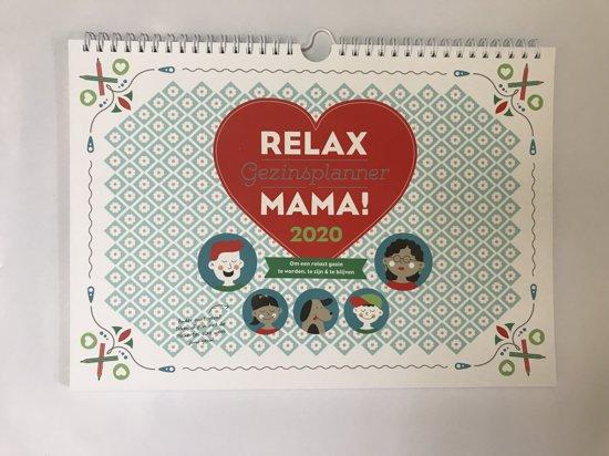 Afbeelding van Relax Mama Gezinsplanner 2020
