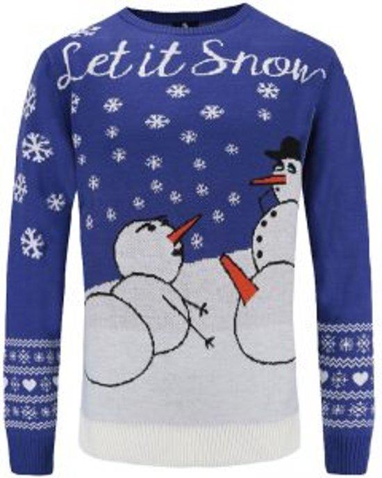 Kersttrui Maat L.Bol Com Sneeuwpoppen Kersttrui Maat L Superfout Speelgoed