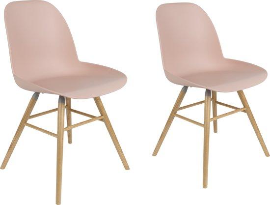 Licht Roze Stoel : Bol zuiver albert kuip stoel roze set van