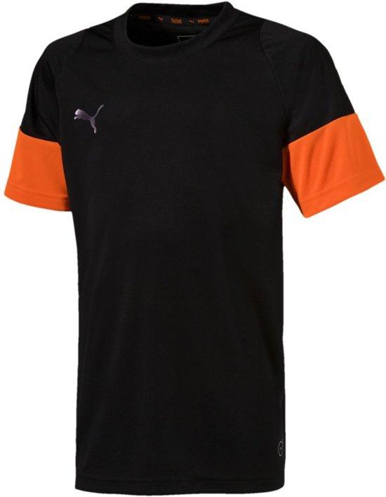 8c92edd814e PUMA ftblNXT Shirt Jr Sportshirt Kinderen - Puma Black-Shocking Orange -  Maat 176
