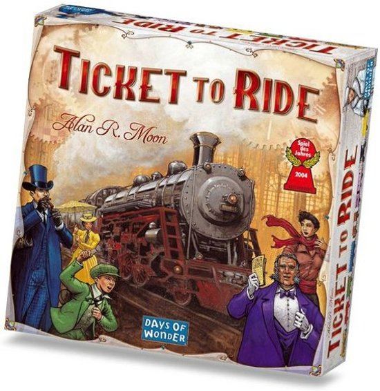 Spel - Ticket to Ride USA met uitbreiding Map Collection - India/Zwitserland - Combi Deal