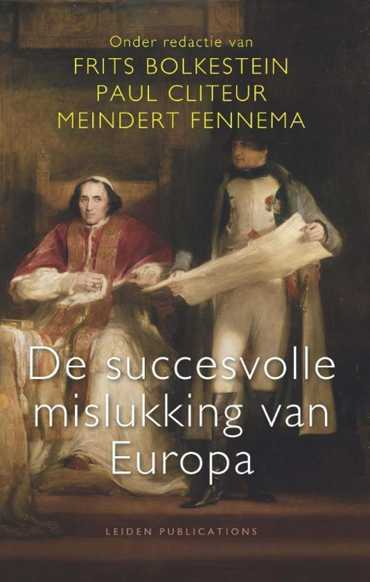 Boek cover De succesvolle mislukking van Europa van  (Paperback)