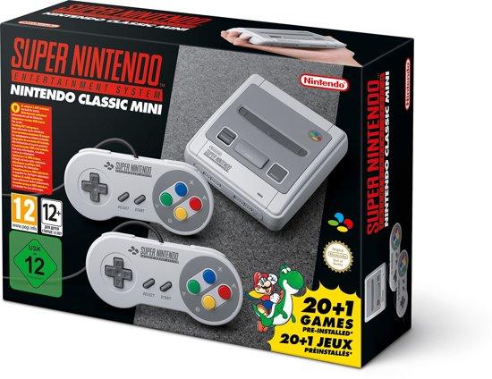Afbeelding van Nintendo Classic Mini: Super Entertainment System - Grijs (import IT)