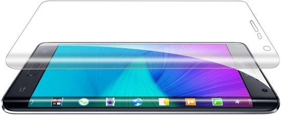 Let op type!! 0.1mm explosieveilige zachte Full Screen Protector voor Galaxy Note Edge / N9150