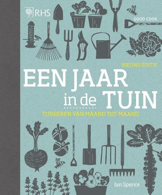 Boek cover Een jaar in de tuin van Ian Spence (Hardcover)