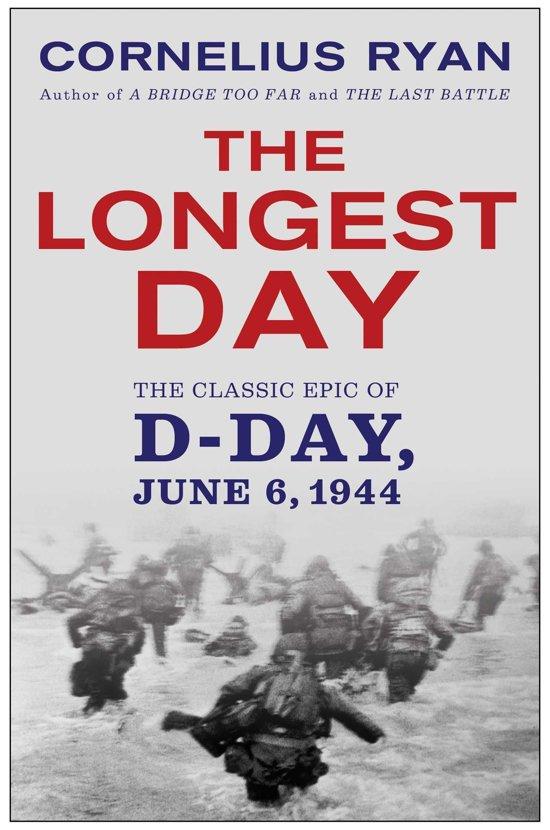 Boek cover The Longest Day van Cornelius Ryan (Onbekend)