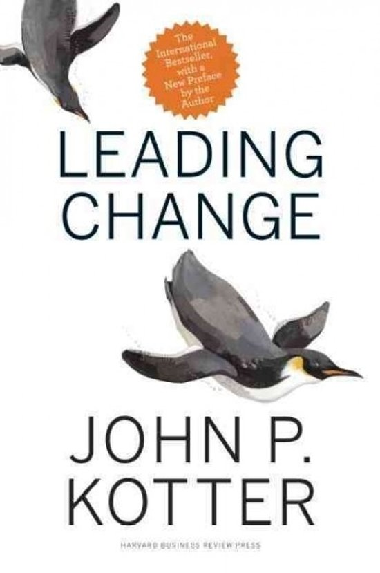 Change Leadership: Minimizing the Chaos of Transformation