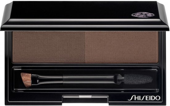 Shiseido Eyebrow Styling Compact Wenkbrauw make-up 1 st. - GY901 - Deep Brown - Wenkbrauwpoeder