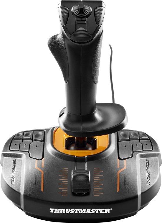 Thrustmaster T-16000M FCS Joystick PC Zwart, Oranje