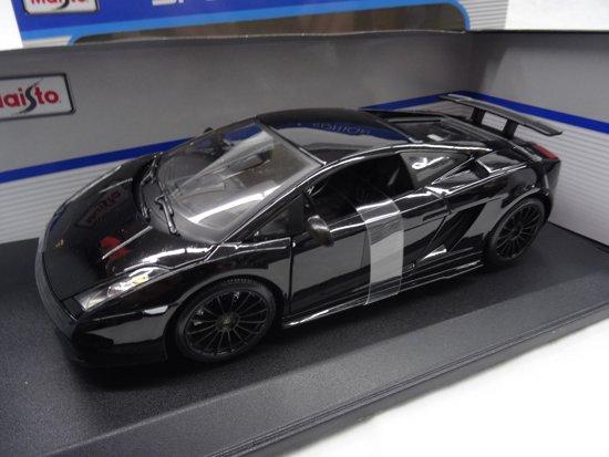Bol Com Lamborghini Gallardo Superleggera 2007 Zwart 1 18 Maisto