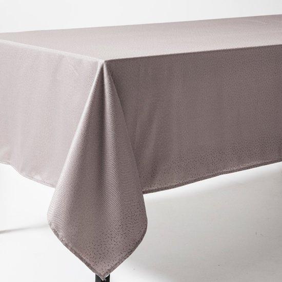 Tafelkleed 180x180cm Taupe