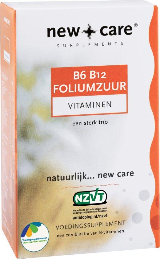 Bolcom New Care B6 B12 Foliumzuur Vitaminen 60 Zuigtabletten