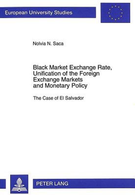Black Market Exchange Rate Unification