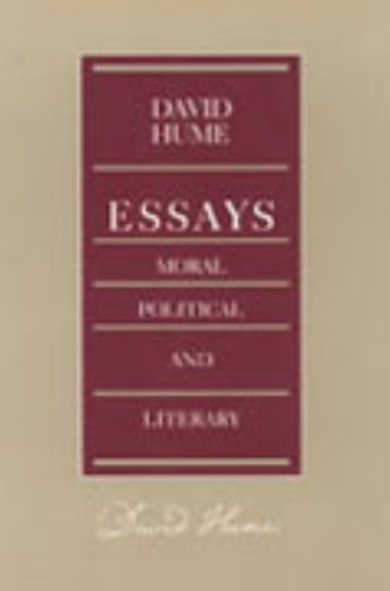 moral and political essays Essays, moral and political was hume's first great success published squarely between his first work a treatise of human nature (1734) and his seminal work.