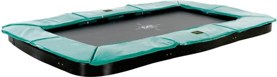 EXIT Supreme Ground Level Trampoline 244 x 427 cm