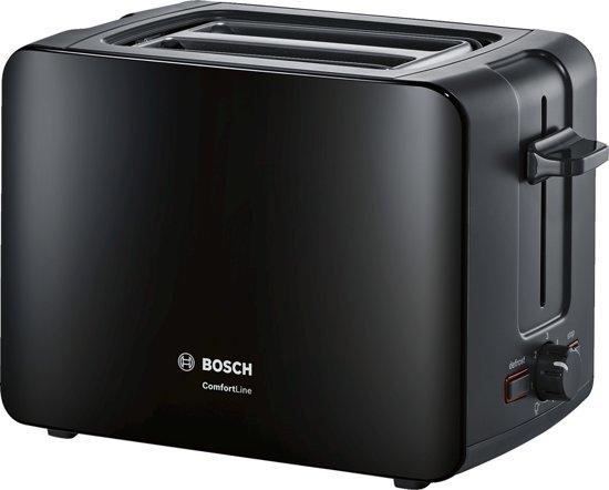 Bosch TAT6A113  ComfortLine - Compacte Broodrooster - Zwart