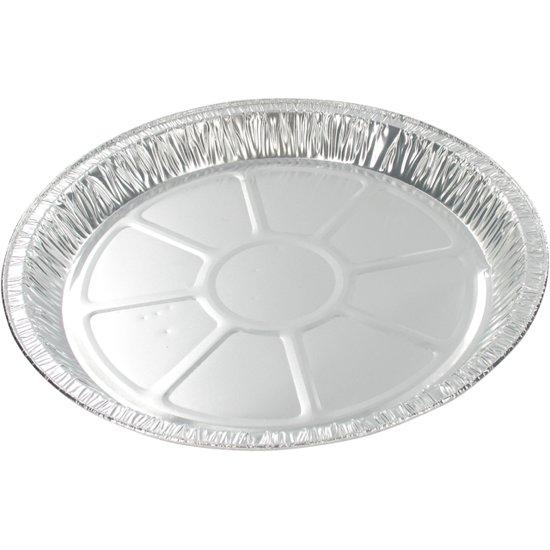 Schaal, schaal rond, Aluminium, rond, ∅203mm, aluminium