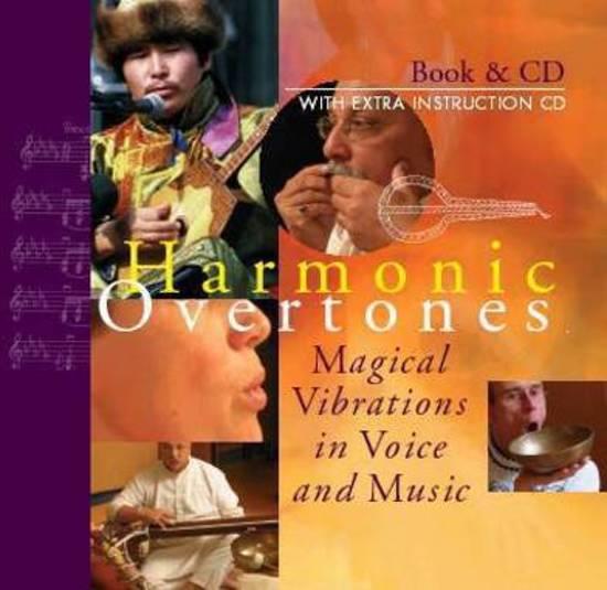 Cover van het boek 'Harmonic overtones boek en cd' van Dick de Ruiter