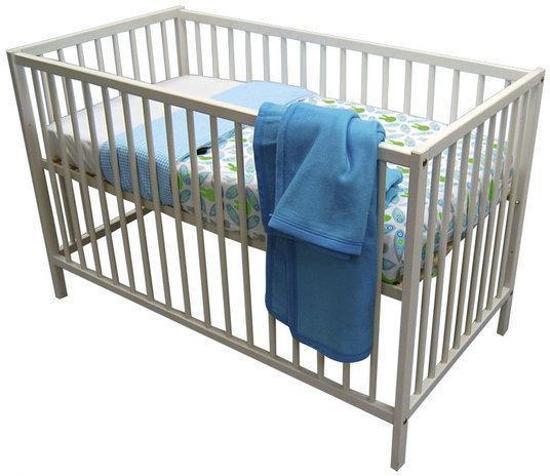 Ledikant Afmetingen Baby.Bol Com Bebies First Ledikant 60x120 Basic Whitewash