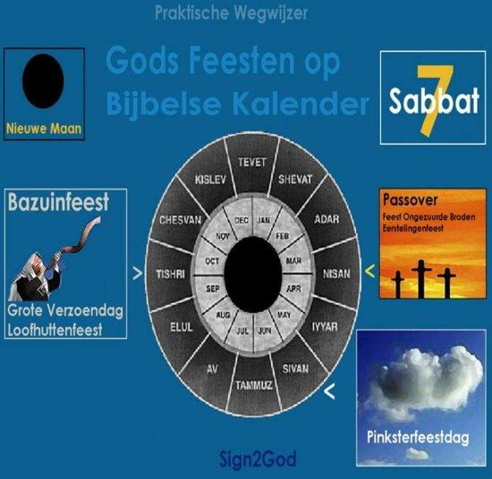 Gods feesten op bijbelse kalender