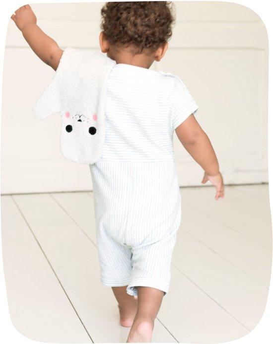Baby Shower Glove eend - mintgroen
