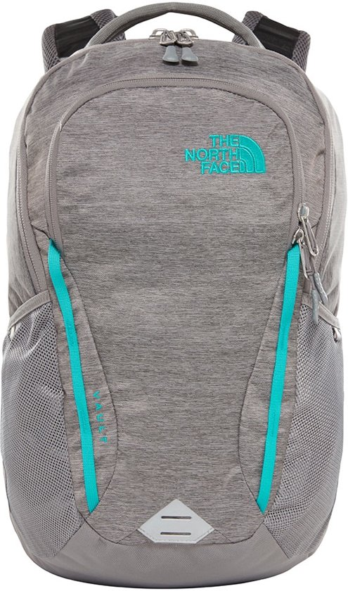 3a995394ad The North Face Womens Vault Backpack Zinc Grey Light Heather/Kokomo Green