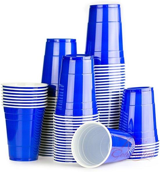 Red Celebration American Original Party Cups - 500 ml - Blue - 200 stuks
