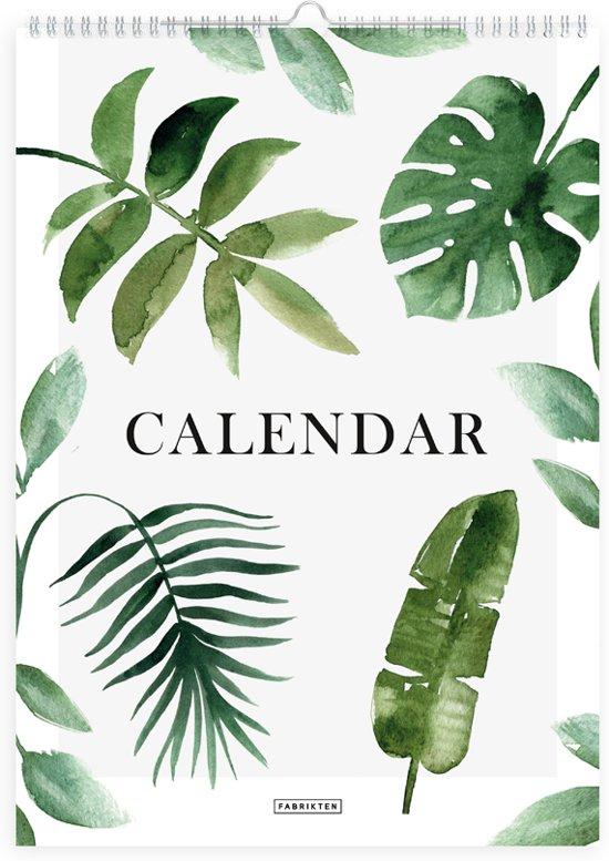 Jaarkalender - Verjaardagskalender - Botanisch - A4 - Fabrikten