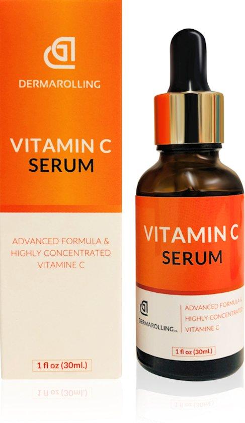Dermarolling® Vitamine c serum 30ml.