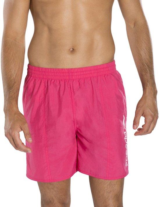 "Speedo Scope 16"" Zwemshort  Zwembroek - Maat L  - Mannen - roze"