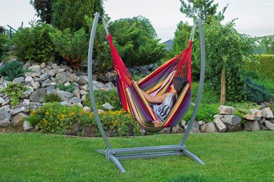 Potenza Gazela - Stabiele hangstoelstandaard met Extra grote hangstoel,  Hangstoelset