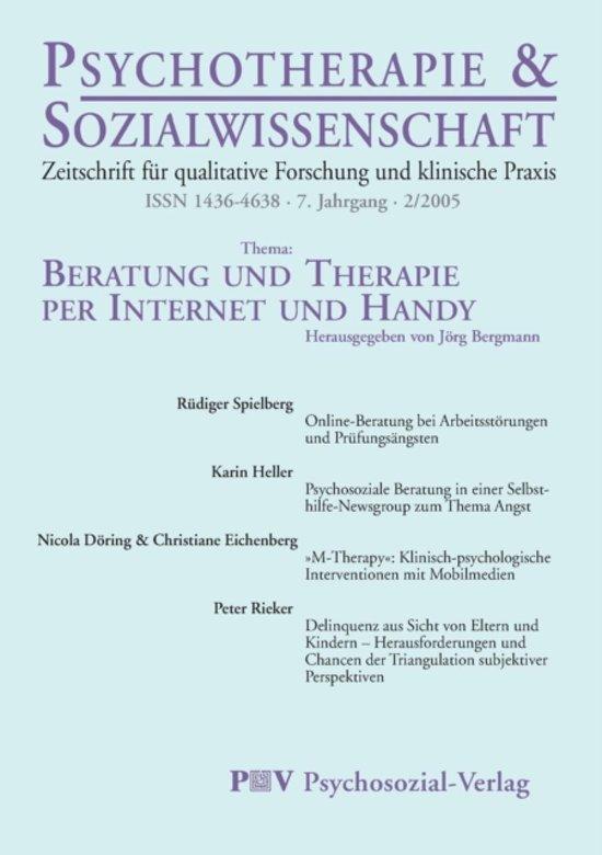 Psychotherapie & Sozialwissenschaft 2/2005