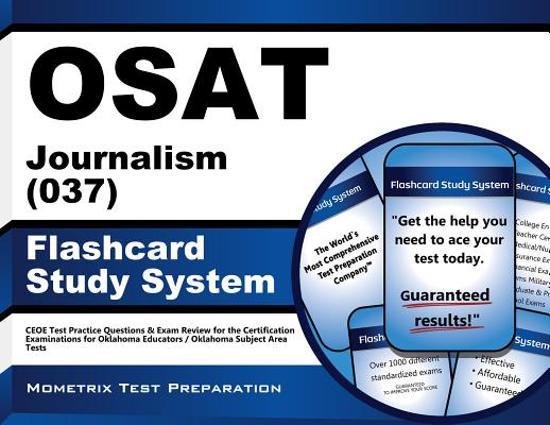 Afbeelding van het spel Osat Journalism (037) Flashcard Study System