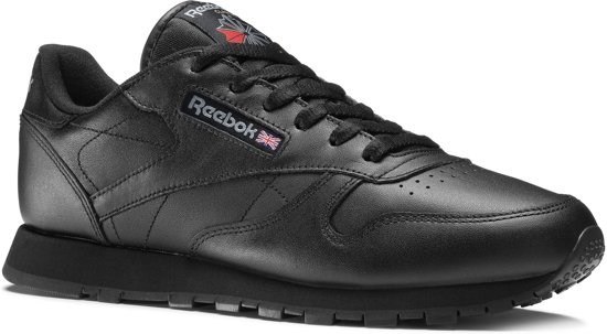 4c9b9f7856d bol.com | Reebok Classics Leather Sneakers Dames - Int-Black - Maat 38.5