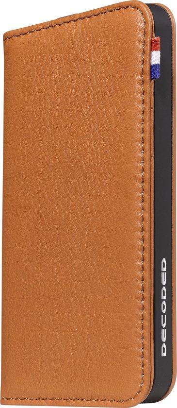 Decoded Leather Case Wallet - Leren hoesje voor iPhone 5 / iPhone 5S / iPhone SE - Bruin