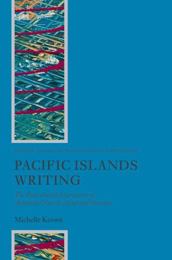 postcolonial pacific writing keown michelle
