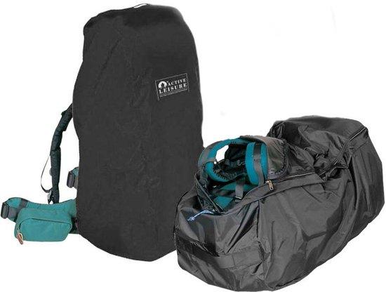 f13770befd1 Active Leisure Regenhoes/flightbag voor backpack - tot 50 liter - Zwart