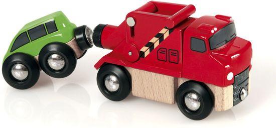 BRIO 33528 Trein Sleepwagen met auto