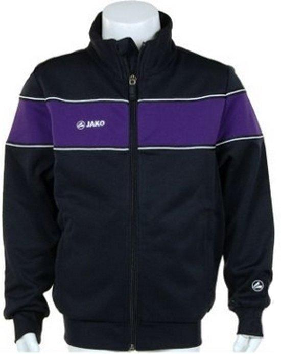 Jako Trainings Jacket Player Junior - Sportshirt - Kinderen - Maat 164 - Dark Navy;Purple
